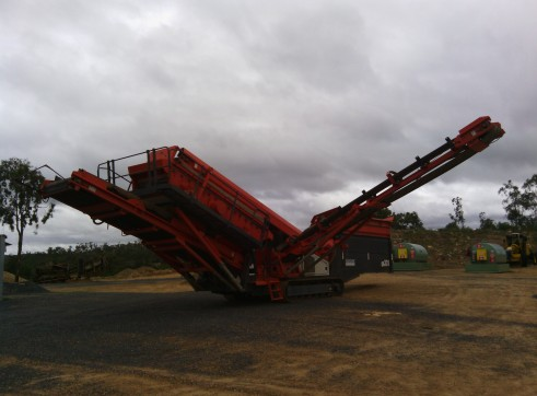Sandvik QA331 Screening Plant 1