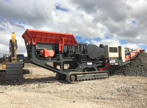 Sandvik QJ330 Jaw Crusher 1