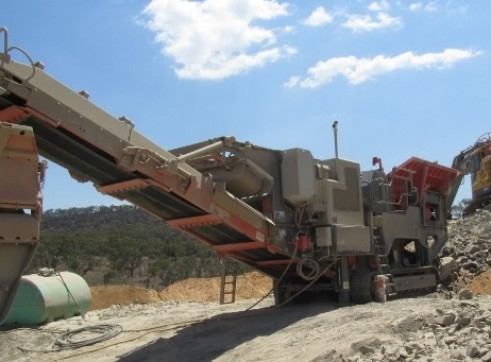 Sandvik QJ341 Jaw Crusher 1