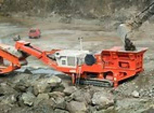 Sanvik QJ340 Jaw Crusher 1