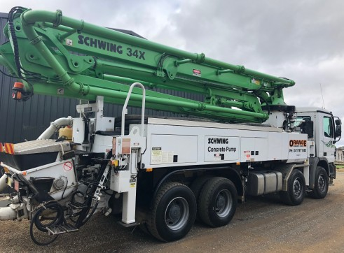 SCHWING 34X 2023 - For Sale or Dry Hire 2