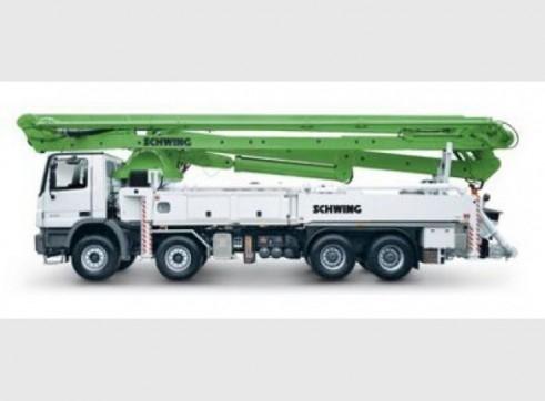 Schwing Concrete Pump 2