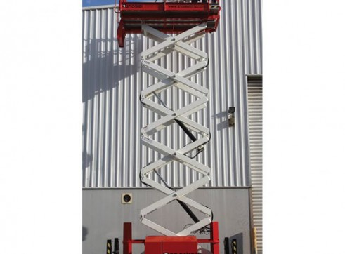 Scissor Lift 11.9m - All Terrain