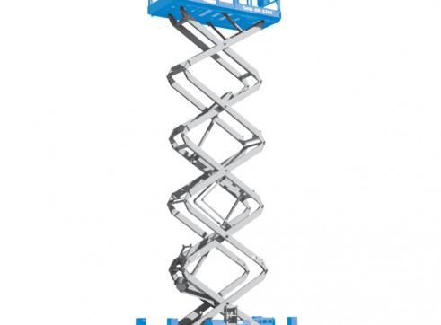Scissor Lift - 12m (40ft) Rough Terrain Genie 1