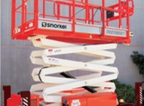 Scissor Lift 8.4m - Narrow All Terrain 1