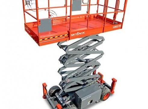 Scissor Lift - 9.7m (32ft) Rough Terrain Skyjack 2