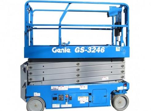 Scissor Lift - 9.8m (32ft) Electric Genie 3