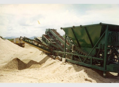 Screening Plant - 6x4 2-Deck - Sand, Gravel, Aggregate 1