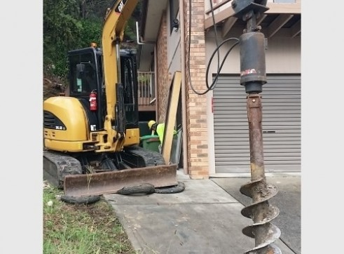 Screw Timber Sheet Piling | Bored Piers | CFA | Rock Sawing 2