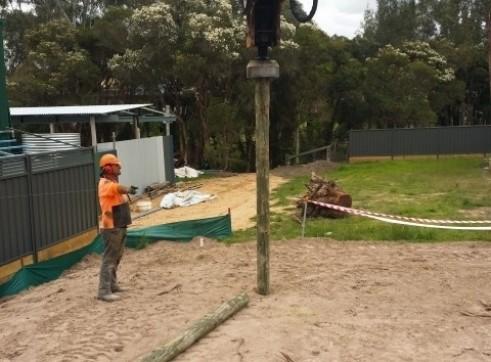 Screw Timber Sheet Piling | Bored Piers | CFA | Rock Sawing 4