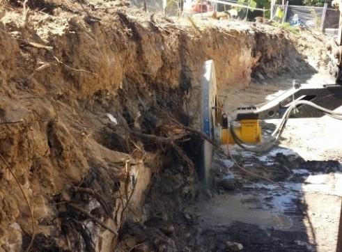 Screw Timber Sheet Piling | Bored Piers | CFA | Rock Sawing 5