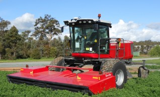Self Propelled Mover conditioner / windrower 1