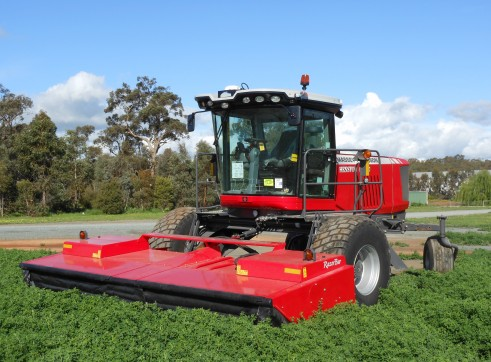 Self Propelled Mower conditioner / windrower 1