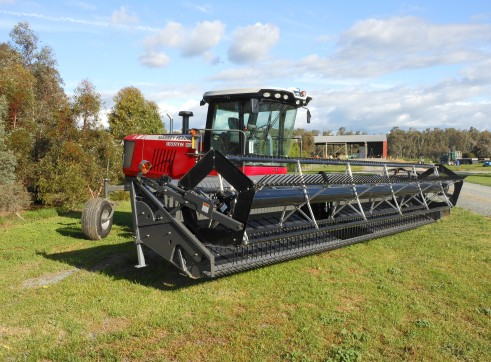 Self Propelled Mover conditioner / windrower 3
