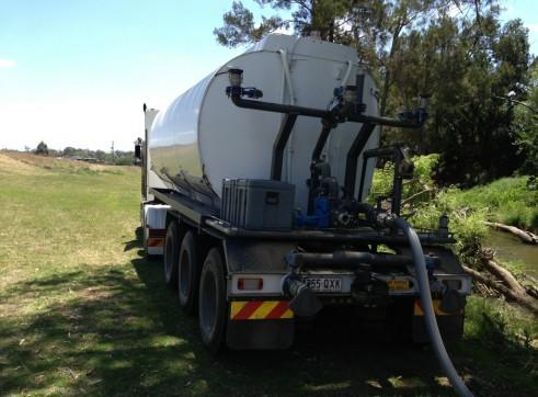 Semi Water cart - 26,000L - Heavy Duty Off Road 2