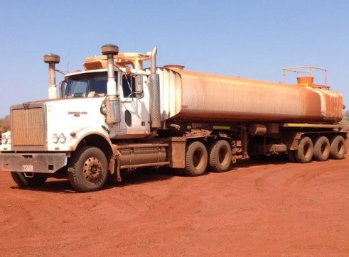 Semi Water Tanker or Water Trailer - Full Mine Spec 2