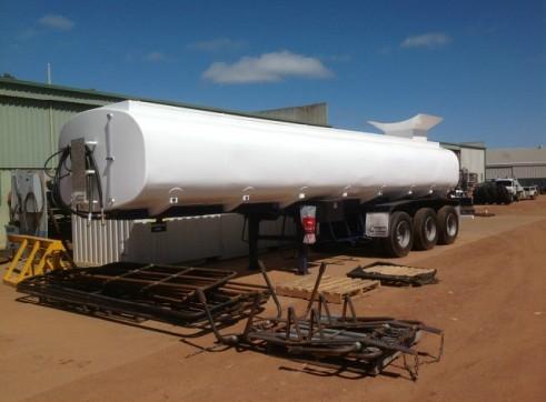 Semi Water Tanker or Water Trailer - Full Mine Spec 3