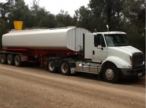 Semi Water Tanker or Water Trailer - Full Mine Spec 4