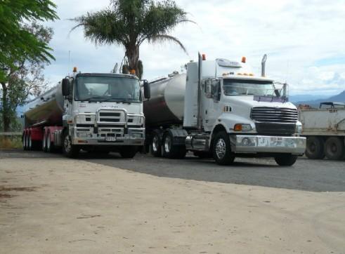 Semi-water Tankers 1