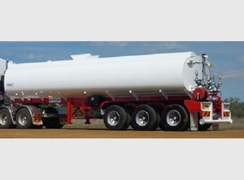 Semi water truck/trailer 1
