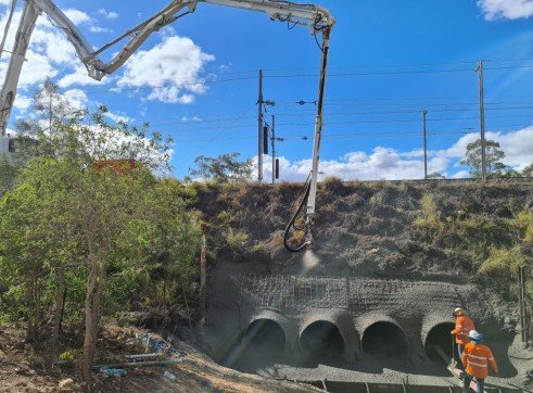 shotcrete concrete pumping 1