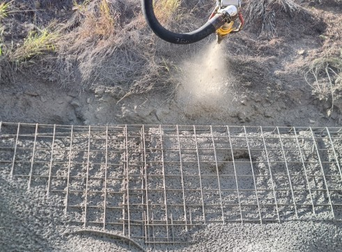 shotcrete concrete pumping 2
