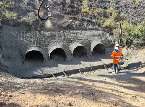 shotcrete concrete pumping 3