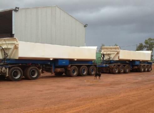 Side Tippers - Road Train with Prime mover 3