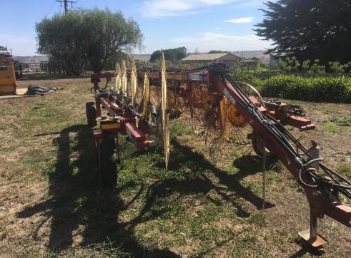 Sitrex 10 wheel V hay rake  1