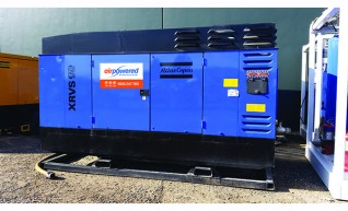 Skid Mounted High Pressure Diesel Compressor 1