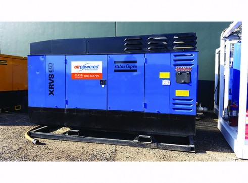 Skid Mounted High Pressure Diesel Compressor 1