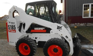 skid steer Bobcat low hrs dry/wet 1