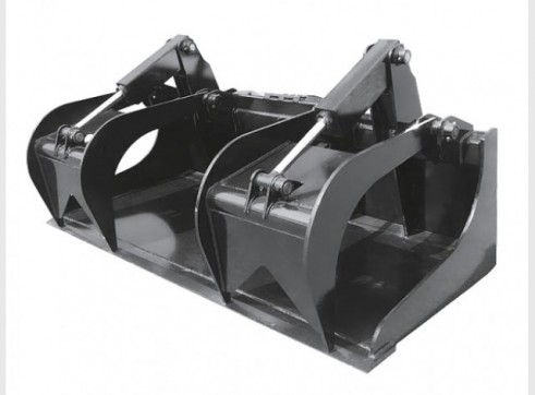 Skid Steer Bucket Grapple 1