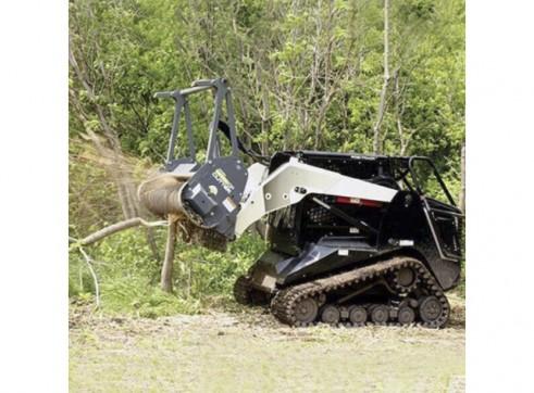 Skid Steer Forestry Mulcher Attachment 4