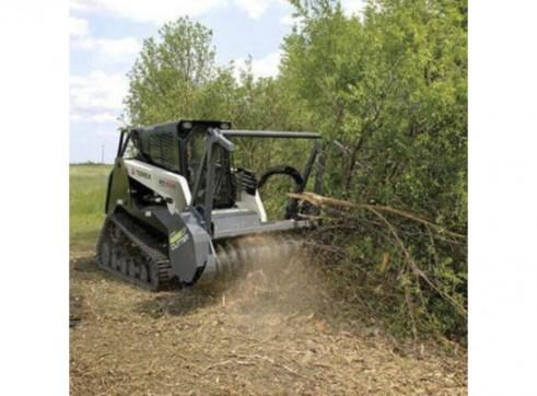 Skid Steer Forestry Mulcher Attachment 5