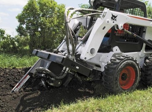 Skid Steer Loader - 12in Trencher (Attachment Only) 1