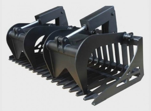 Skid Steer Root Grapple 1