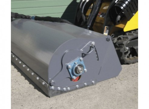 Skid Steer Sweeper Attachment 3