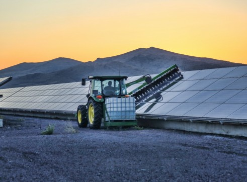 Solar Farm Cleaning Brush (Photovoltaic)