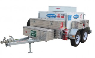 Solar Mobile Fuel Trailers 1