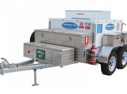 Solar Mobile Fuel Trailers 1