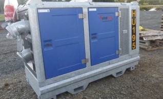 Sound Attenuated Pump Set 1
