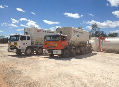 Spreader Trucks - Cement / Lime 1