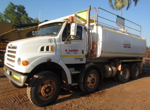 Sterling LT7500 8x4 Tristar 18K Water Truck 1