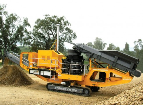 Striker CM500 Mobile Cone Crusher 1