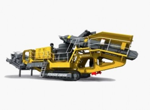 Striker CQR400 Mobile Cone Crusher 3