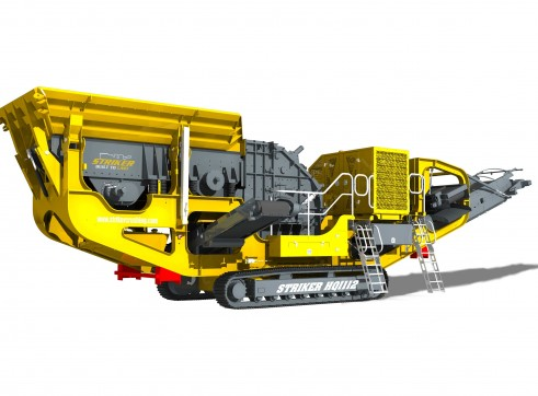 Striker HQ1112 Mobile Impact Crusher 3