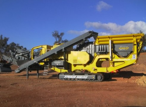 Striker HQR1312 Mobile Impact Crusher 2