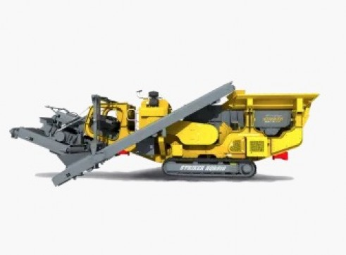 Striker HQR910 Mobile Impact Crusher 2