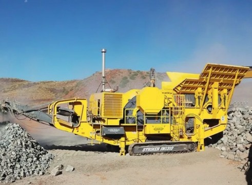 Striker JM1310 Mobile Jaw Crusher 1